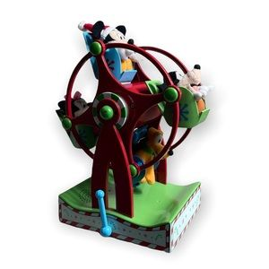 Disney Gemmy Mickey Mouse and Friends Musical Carousal Holiday Decor Sound Works